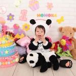大阪の誕生日写真撮影スタジオ・ハニーアンドクランチのフォトギャラリーI030