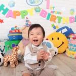 大阪の誕生日写真撮影スタジオ・ハニーアンドクランチのフォトギャラリーI043