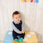 大阪の誕生日写真撮影スタジオ・ハニーアンドクランチのフォトギャラリーI053