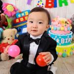 大阪の誕生日写真撮影スタジオ・ハニーアンドクランチのフォトギャラリーI105