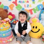 大阪の誕生日写真撮影スタジオ・ハニーアンドクランチのフォトギャラリーI107