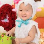 大阪の誕生日写真撮影スタジオ・ハニーアンドクランチのフォトギャラリーI140