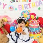 大阪の誕生日写真撮影スタジオ・ハニーアンドクランチのフォトギャラリーI199