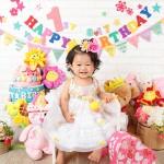 大阪の誕生日写真撮影スタジオ・ハニーアンドクランチのフォトギャラリーI206