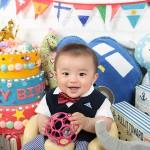 大阪の誕生日写真撮影スタジオ・ハニーアンドクランチのフォトギャラリーI215