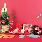 大阪の誕生日写真撮影スタジオ・ハニーアンドクランチのフォトギャラリーI217