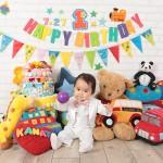 大阪の誕生日写真撮影スタジオ・ハニーアンドクランチのフォトギャラリーI220