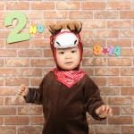 大阪の誕生日写真撮影スタジオ・ハニーアンドクランチのフォトギャラリーI224
