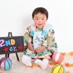 大阪の誕生日写真撮影スタジオ・ハニーアンドクランチのフォトギャラリーI237
