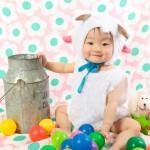 大阪の誕生日写真撮影スタジオ・ハニーアンドクランチのフォトギャラリーI238