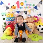 大阪の誕生日写真撮影スタジオ・ハニーアンドクランチのフォトギャラリーI262