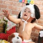 大阪の誕生日写真撮影スタジオ・ハニーアンドクランチのフォトギャラリーI277