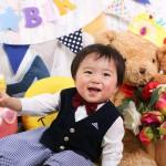 大阪の誕生日写真撮影スタジオ・ハニーアンドクランチのフォトギャラリーI283