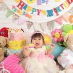大阪の誕生日写真撮影スタジオ・ハニーアンドクランチのフォトギャラリーI310