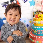 大阪の誕生日写真撮影スタジオ・ハニーアンドクランチのフォトギャラリーI317