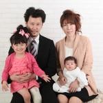 大阪の家族写真撮影スタジオ・ハニーアンドクランチのフォトギャラリーL001