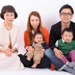 大阪の家族写真撮影スタジオ・ハニーアンドクランチのフォトギャラリーL002