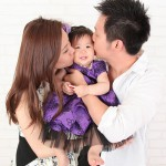 大阪の家族写真撮影スタジオ・ハニーアンドクランチのフォトギャラリーL007