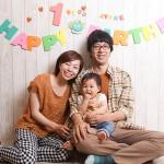 大阪の家族写真撮影スタジオ・ハニーアンドクランチのフォトギャラリーL008