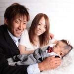 大阪の家族写真撮影スタジオ・ハニーアンドクランチのフォトギャラリーL010