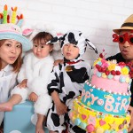 大阪の家族写真撮影スタジオ・ハニーアンドクランチのフォトギャラリーL012