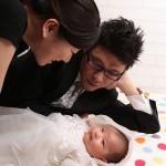 大阪の家族写真撮影スタジオ・ハニーアンドクランチのフォトギャラリーL018