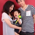 大阪の家族写真撮影スタジオ・ハニーアンドクランチのフォトギャラリーL020