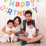 大阪の家族写真撮影スタジオ・ハニーアンドクランチのフォトギャラリーL021