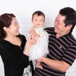 大阪の家族写真撮影スタジオ・ハニーアンドクランチのフォトギャラリーL025