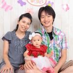 大阪の家族写真撮影スタジオ・ハニーアンドクランチのフォトギャラリーL027