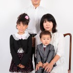 大阪の家族写真撮影スタジオ・ハニーアンドクランチのフォトギャラリーL028