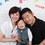 大阪の家族写真撮影スタジオ・ハニーアンドクランチのフォトギャラリーL030
