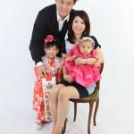 大阪の家族写真撮影スタジオ・ハニーアンドクランチのフォトギャラリーL038