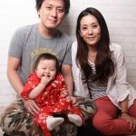 大阪の家族写真撮影スタジオ・ハニーアンドクランチのフォトギャラリーL039