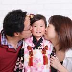 大阪の家族写真撮影スタジオ・ハニーアンドクランチのフォトギャラリーL040