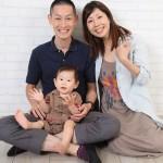大阪の家族写真撮影スタジオ・ハニーアンドクランチのフォトギャラリーL043