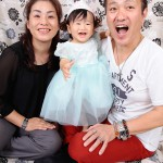 大阪の家族写真撮影スタジオ・ハニーアンドクランチのフォトギャラリーL044