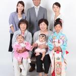大阪の家族写真撮影スタジオ・ハニーアンドクランチのフォトギャラリーL045