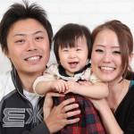 大阪の家族写真撮影スタジオ・ハニーアンドクランチのフォトギャラリーL050