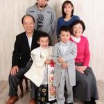 大阪の家族写真撮影スタジオ・ハニーアンドクランチのフォトギャラリーL051