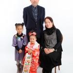 大阪の家族写真撮影スタジオ・ハニーアンドクランチのフォトギャラリーL052