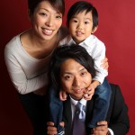 大阪の家族写真撮影スタジオ・ハニーアンドクランチのフォトギャラリーL056
