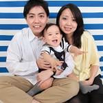 大阪の家族写真撮影スタジオ・ハニーアンドクランチのフォトギャラリーL067