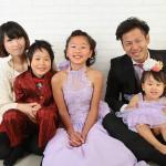 大阪の家族写真撮影スタジオ・ハニーアンドクランチのフォトギャラリーL069