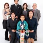 大阪の家族写真撮影スタジオ・ハニーアンドクランチのフォトギャラリーL074