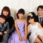 大阪の家族写真撮影スタジオ・ハニーアンドクランチのフォトギャラリーL075