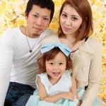 大阪の家族写真撮影スタジオ・ハニーアンドクランチのフォトギャラリーL081