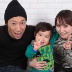大阪の家族写真撮影スタジオ・ハニーアンドクランチのフォトギャラリーL082
