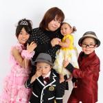 大阪の家族写真撮影スタジオ・ハニーアンドクランチのフォトギャラリーL084