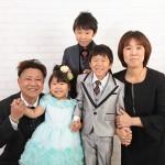 大阪の家族写真撮影スタジオ・ハニーアンドクランチのフォトギャラリーL085